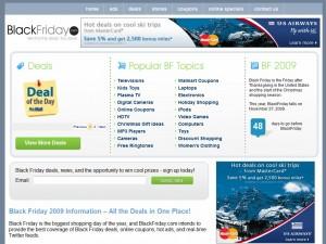 """Blackfriday.com website"""