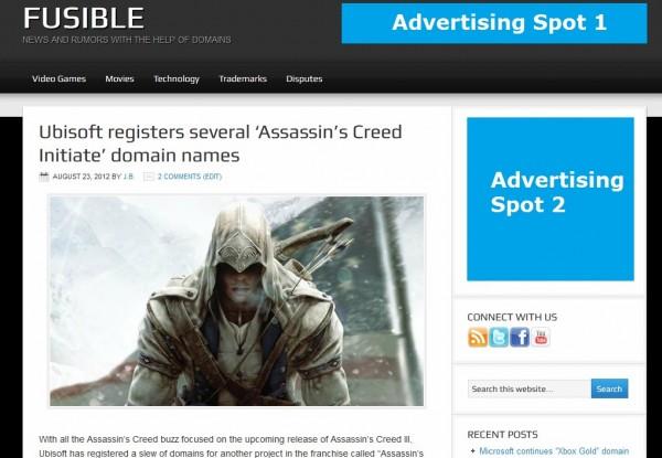 Fusible.com Ad spec