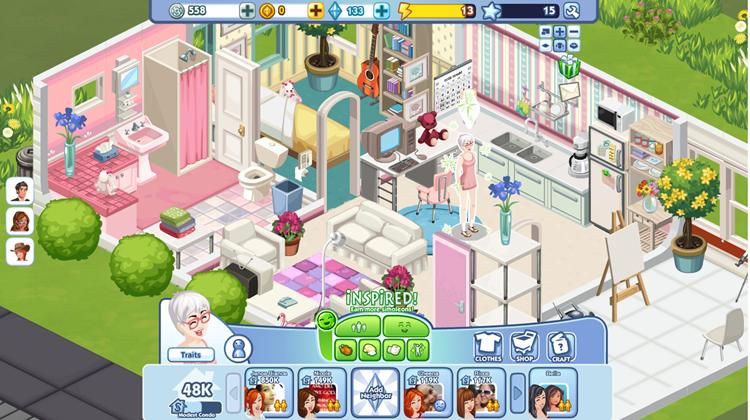 EA files Style Empire trademark fashion or interior design game