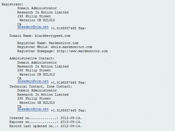 BlackBerryPeek.com