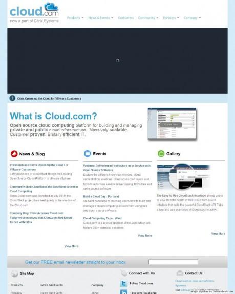 Cloud.com November 8, 2012
