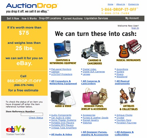 Domain Name of eBay Drop-off store that raised Millions in VC, Expires and ends up on Aftermarket