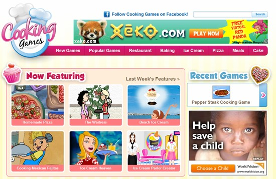 """Hallpass Media Launches New Site for $350,000 """"Casual Gaming"""" Domain Name: CookingGames.com"""