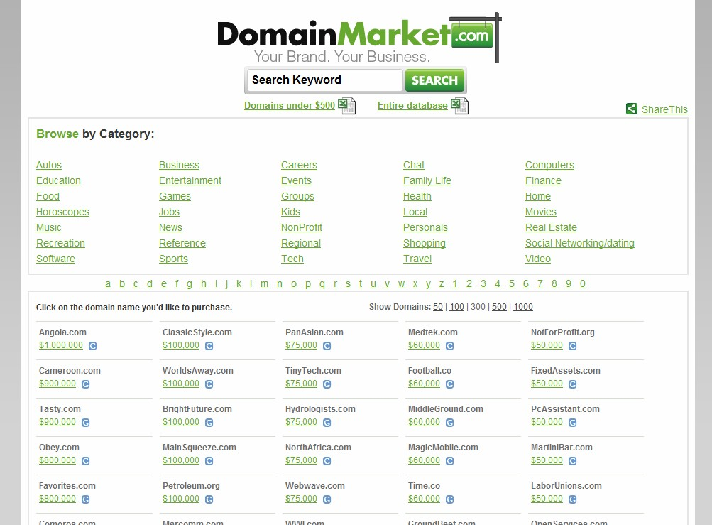 The .CO Domain King: Mike Mann of DomainMarket has 100+ .co domains, as much as $350K per name