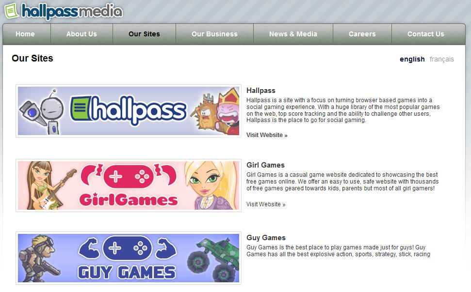 "CookingGames.com sells for $350K to Hallpassmedia; Best ""CASUAL GAMES"" Sites; CEO talks about BUY"