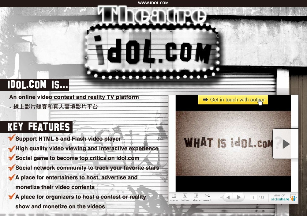 Idol.com owner unveils plans for website, Domain purchased for $155K in July 2010