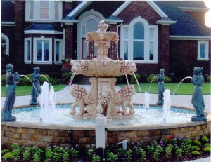 """Outdoor Fountain"""