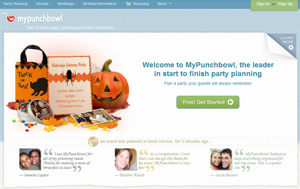 Rick Schwartz Puts Together Another Strong Domain Name Sale; PunchBowl.com Re-Directs to MyPunchBowl.com