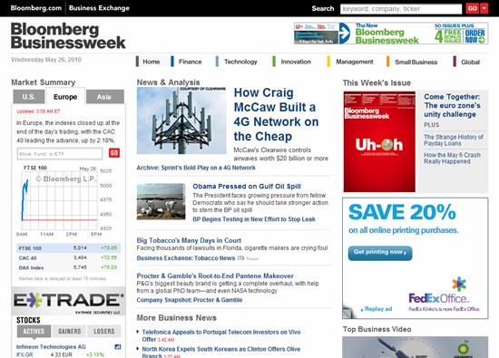 Corporate Blunder by Bloomberg leads to Valuable Domain Expiring: PersonalWealth.com