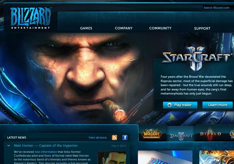 Blizzard knows domains; Warcraft.com, Diablo.com, Battle.net, many more