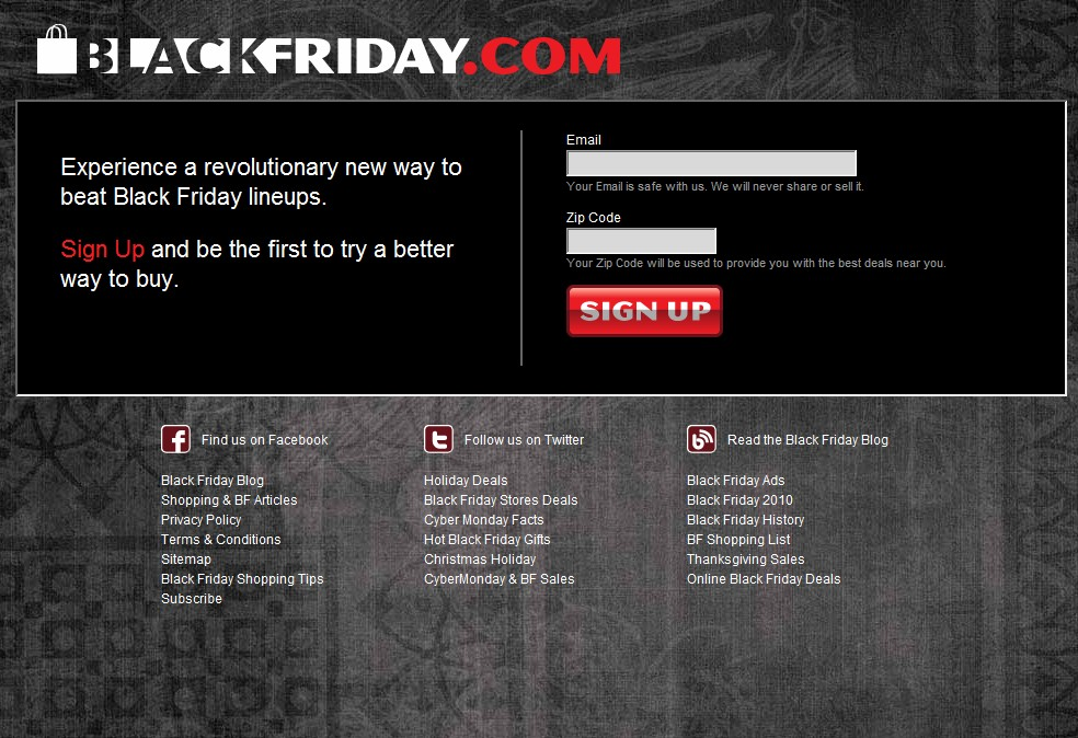Reinvent gets ready for Holiday season, redesign underway for BlackFriday.com