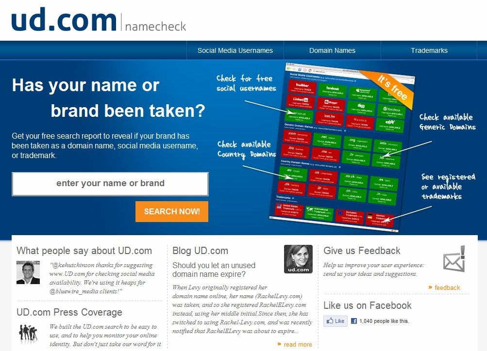 NameCheck, a service that checks social media usernames, domains & trademarks pays $50K for domain, but misses others