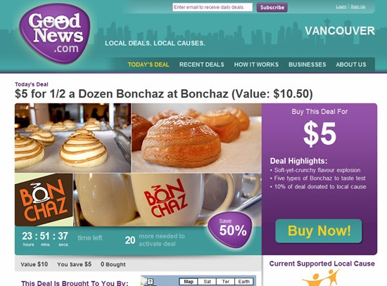 @GoodNewsVan Twitter followers get sneak peek at Kevin Ham's newest group buying venture