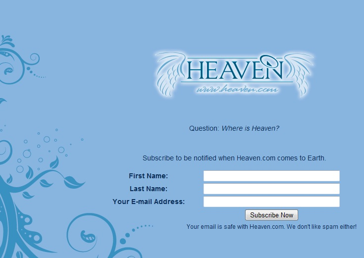 Kevin Ham's Armageddon.com and Heaven.com undergoing changes