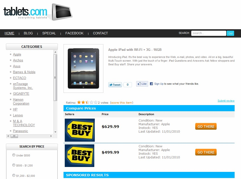 Aron Meystedt's Tablets.com gets a new look