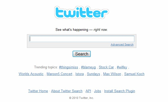 Twitter files UDRP complaint against owner of domain: TwitterSearch.com