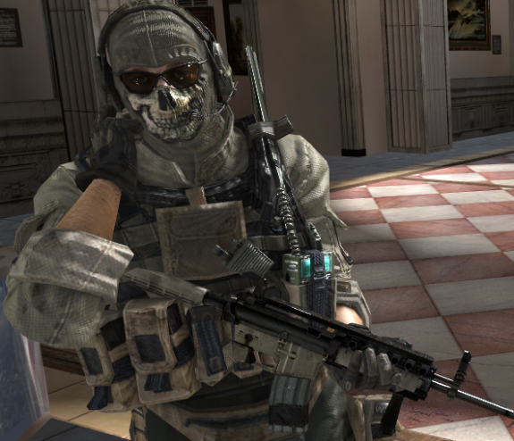 Modern Warfare 3 Ghost