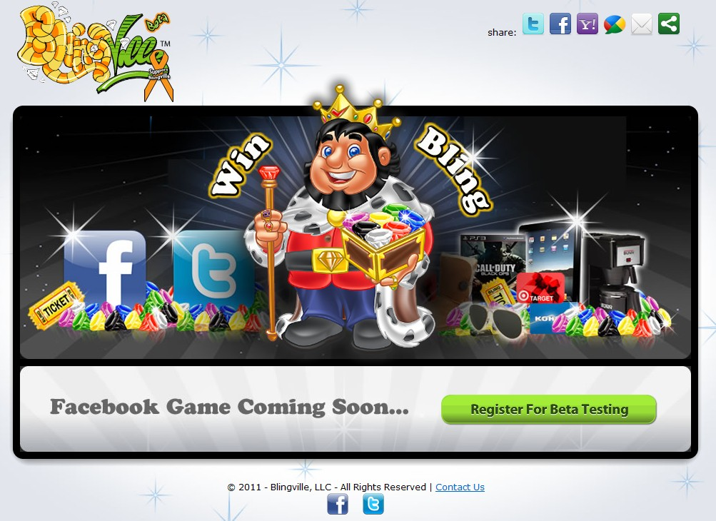 Threats by Zynga backfire as thousands line up online to play Blingville on Facebook