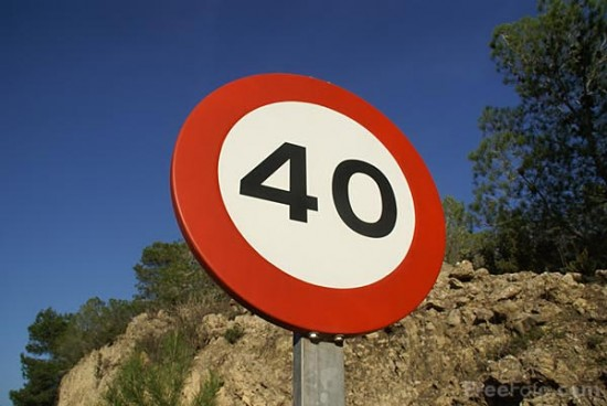 Kilometer sign