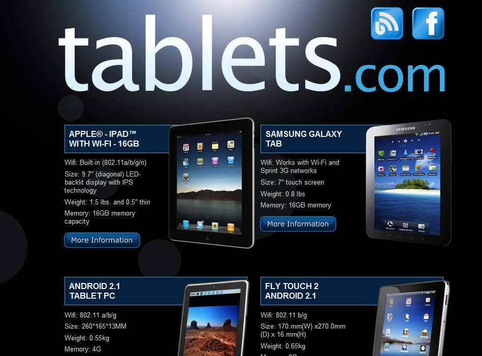 Aron Meystedt's Tablets.com gets another new look and feel