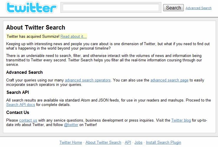 Twittersearch.com turned over to Twitter, after domain dispute filed back in Dec. '10