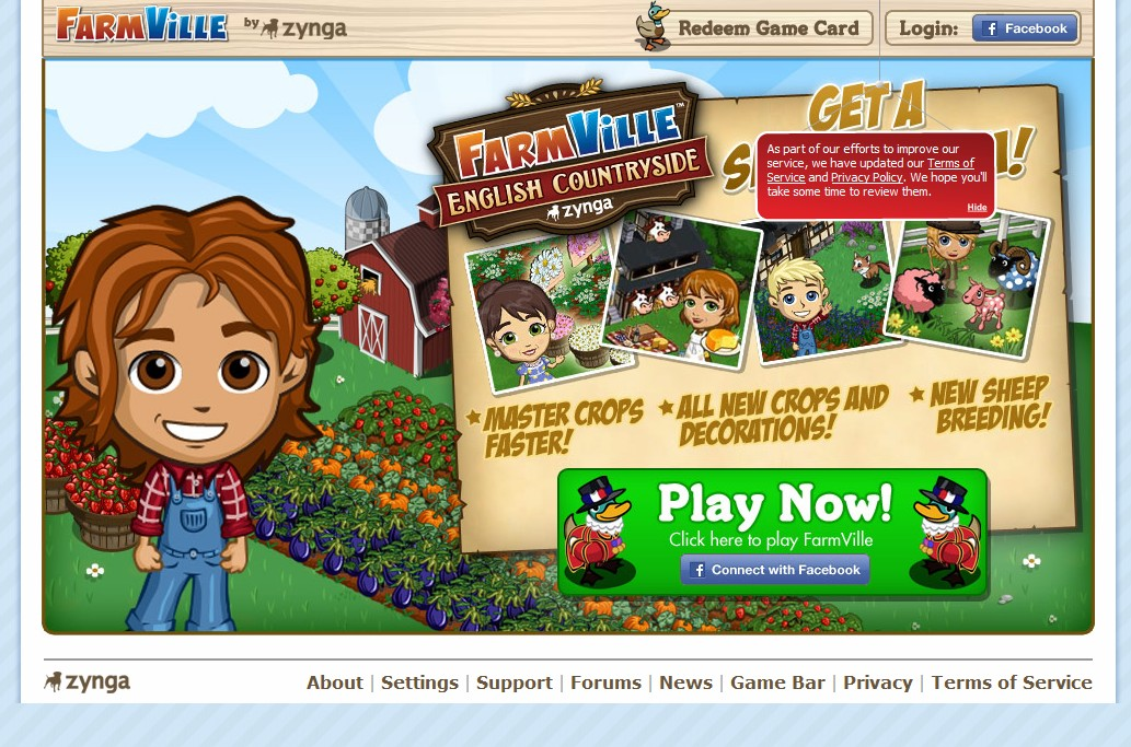 "Will Zynga release ""Farmville Express""? Company registers farmvilleexpress.com, expressfarmville.com domain names"