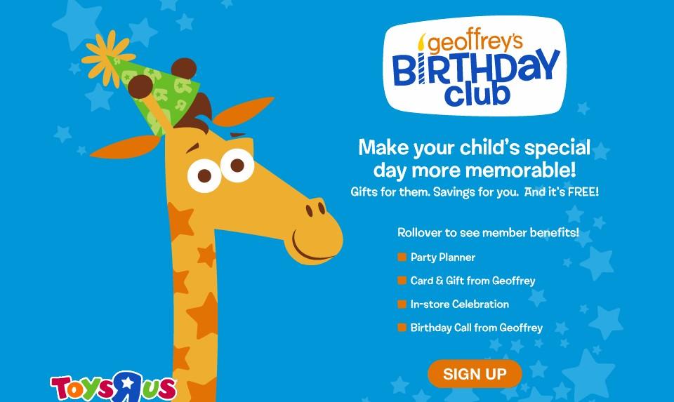 Geoffrey The Giraffe Toys R Us Mascot