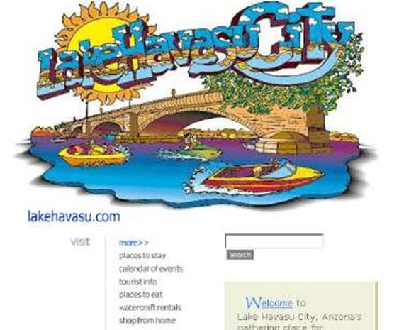 Six-figure domain name expires, lakehavasu.com is pending renewal or deletion