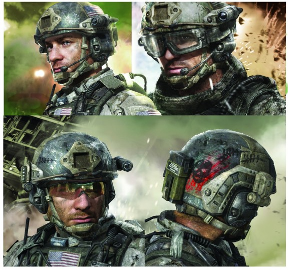 Call of Duty Modern Warfare 3 concept art Sandman