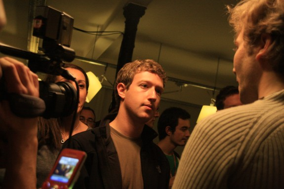 Mark Zuckerberg au Facebook Developer Garage Paris, 2008