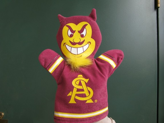 Arizona State Sparky the Sun Devil