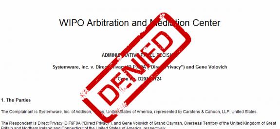 Complainant denied