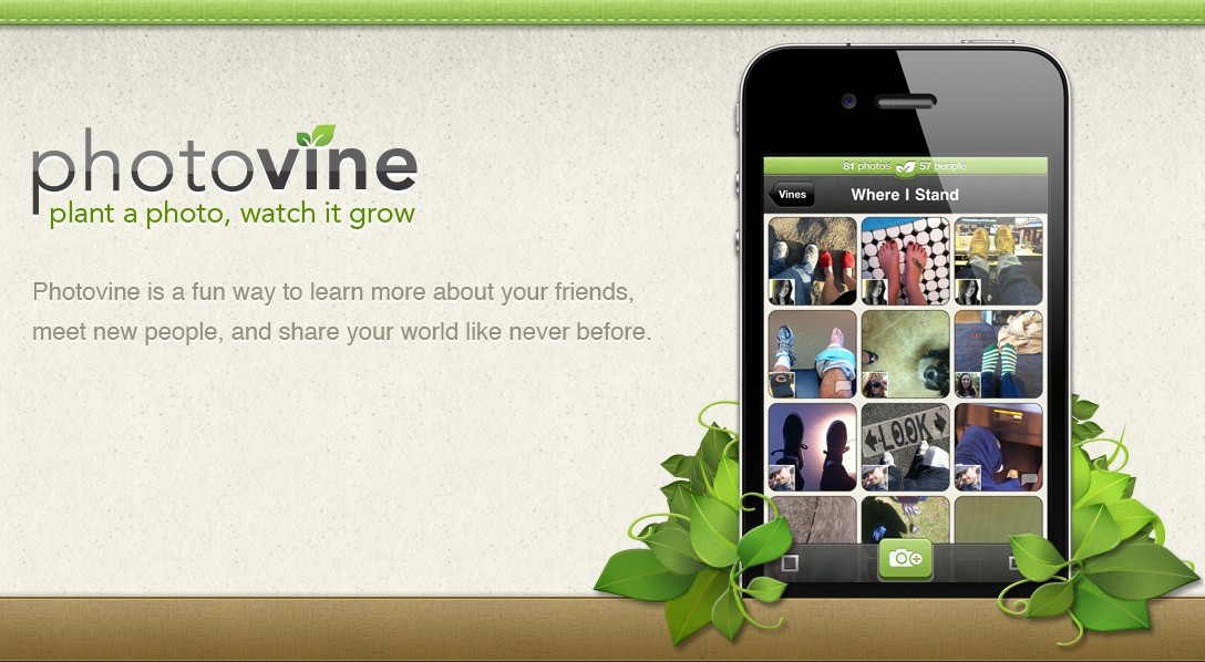 Google finally unveils Photovine