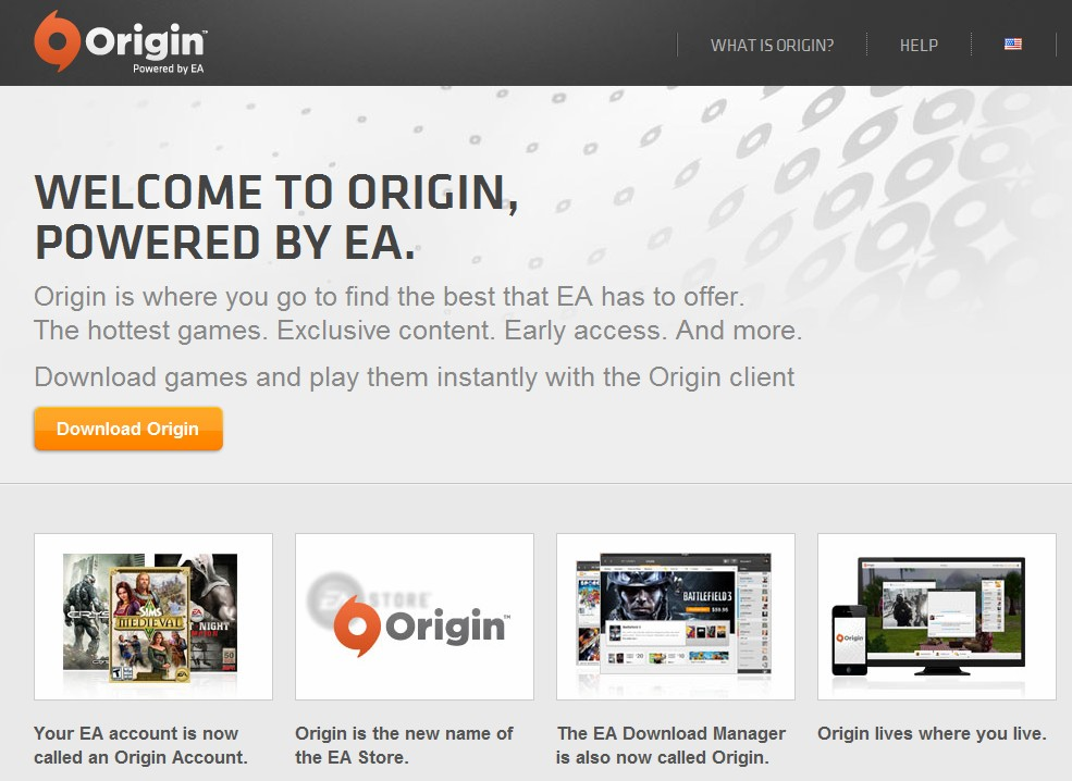 Electronic Arts readying Origin API for developers? Registers origin-api.com