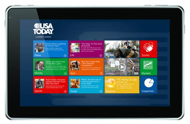 Windows 8 USAToday app