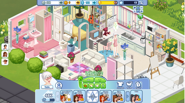 Ea files style empire trademark fashion or interior House designing games online