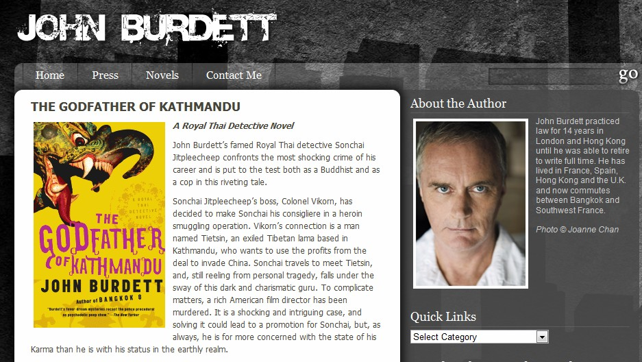 Sony Pictures to produce John Burdett crime novels? 29 domains registered