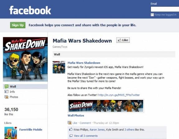 Mafia Wars Shakedown