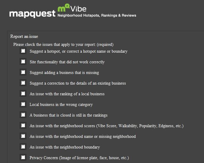 A peek at AOL's MQVibe: Neighborhood hotspots, rankings, & reviews