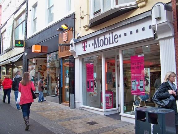 T-Mobile shop