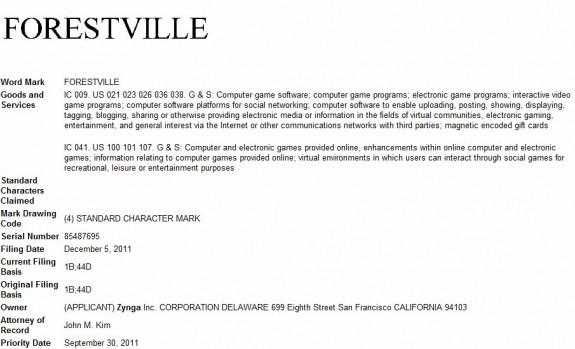 Forestville trademark