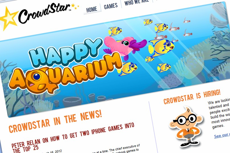 Crowdstar files trademark applications for Aquarium Party, Fish Party video games