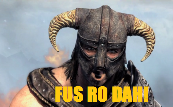 "ZeniMax Media files several trademarks for Dragon Shout ""Fus Ro Dah"""