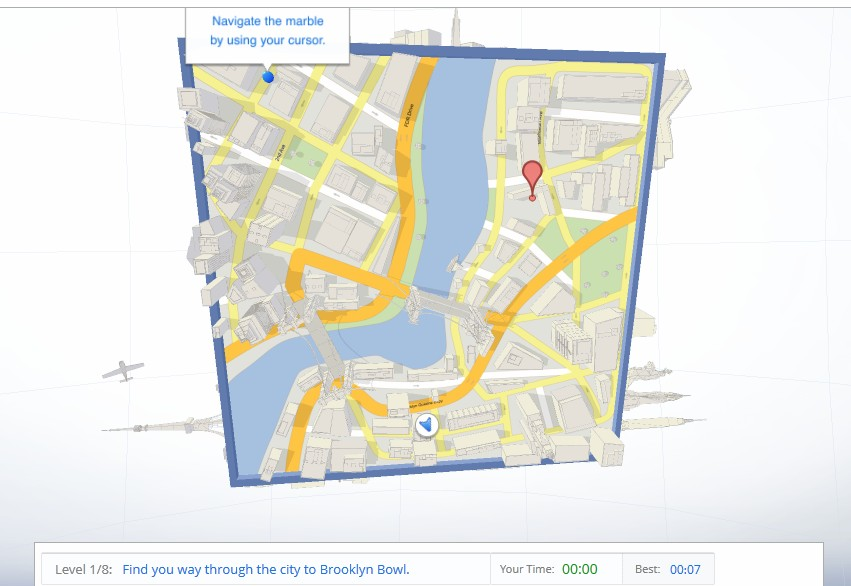 Google finally launches Cube, play your way through a cubic Google Maps world