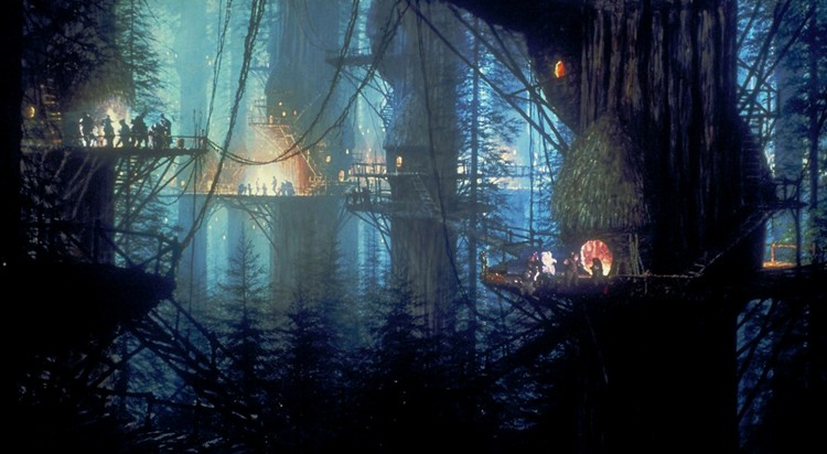 Lucasfilm (parent of LucasArts) registers Ewok Village domain for unknown project