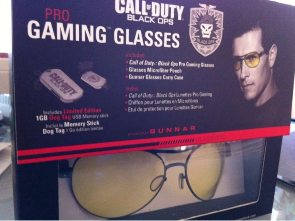 Call of Duty gaming glasses